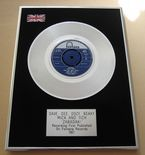 DAVE DEE, DOZY, BEAKY, MICK AND TICH - ZABADAK! PLATINUM Single Presentation DISC